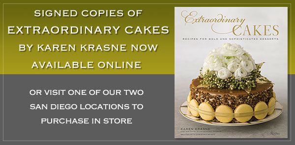 Extraordinary Cakes by Karen Krasne now available for pre-order.